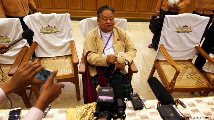 Myanmar Win Htein NLD Partei
