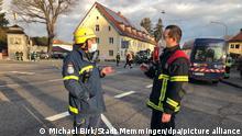 Memmingen | Mehrere Verletzte bei Gasexplosion