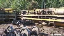 Bangladesch | Zug entgleist