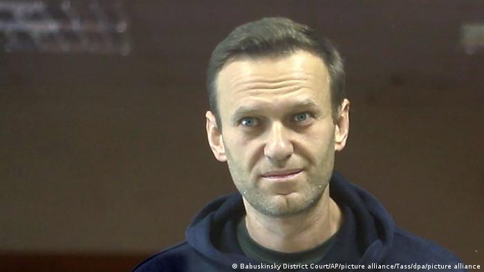 Алексей Навальный в Бабушкинском суде Москвы