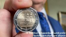 BdT Magdeburger Dom ziert neue Zwei-Euro-Münze