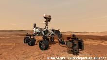 Illustration | NASA Marsmission | Perseverance-Rover