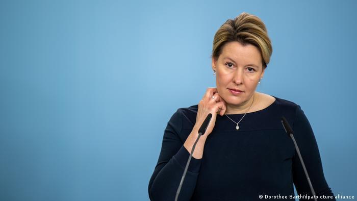 Almanya Aile Bakanı Franziska Giffey