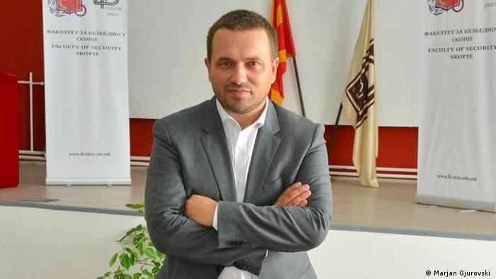 Nordmazedonien Prof. Marjan Gjurovski