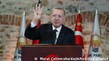 Türkei Präsident Recep Tayyip Erdogan
