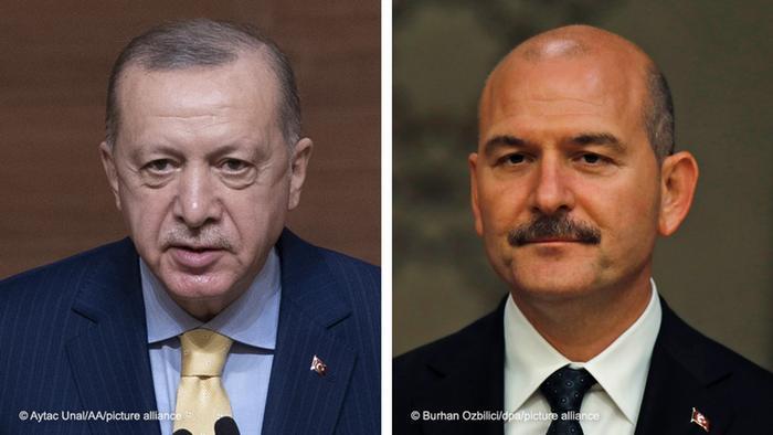 Cumhurbaşkanı Recep Tayyip Erdoğan ve İçişleri Bakanı Süleyman Soylu