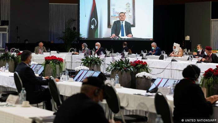 Schweiz Libysches Dialogforum in Genf