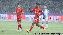Deutschland Bundesliga - Hertha BSC v Bayern München | Tor Coman