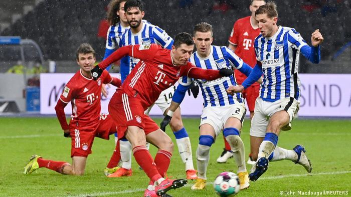 Deutschland Bundesliga - Hertha BSC v Bayern München