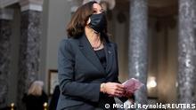 USA   US-Senat ebnet Weg für Bidens Corona-Hilfsplan   Kamala Harris