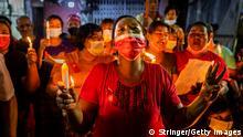 Myanmar Rangun | Proteste nach Militärputsch