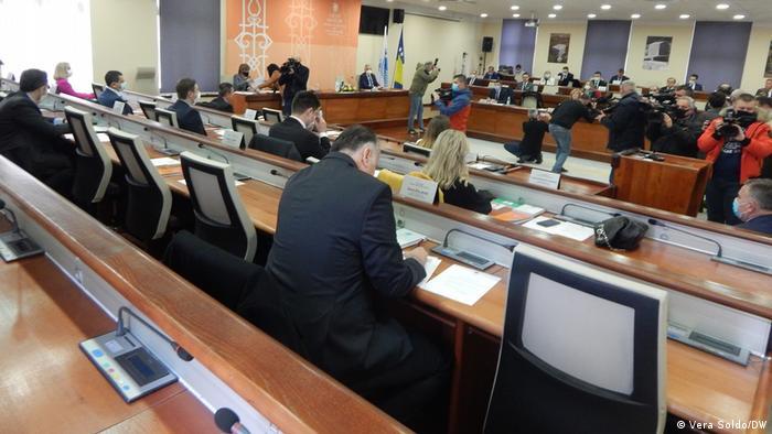 Bosnien-Herzegowina Die erste Sitzung des Stadtrates Mostar nach 9 Jahren