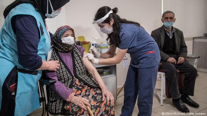 Türkei Istanbul | Coronavirusimpfung