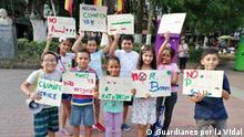 Kolumbien Kinder Aktivisten Guardianes por la Vidal
