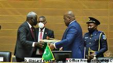 Äthiopien Gipfel der Afrikanischen Union in Addis Abeba | Felix Tshisekedi