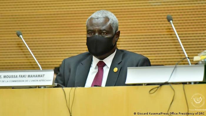 Le président de la Commission de l'Union africaine, le Tchadien, Moussa Faki Mahamat
