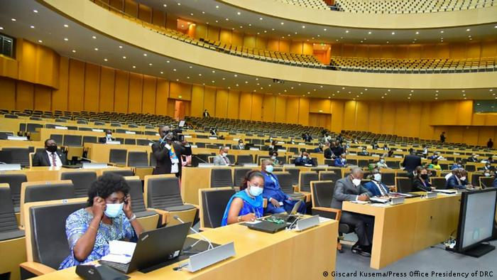 Très peu de personnes étaient présentes à Addis Abeba