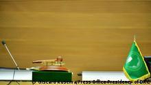 Äthiopien Konferenzsaal Gipfeltreffen der Afrikanischen Union in Addis Abeba