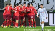 Deutschland Bundesliga Borussia Mönchengladbach gegen 1. FC Köln