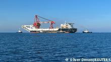 Russland I Dänemark I Nordstream 2 I Verlegeschiff FORTUNA
