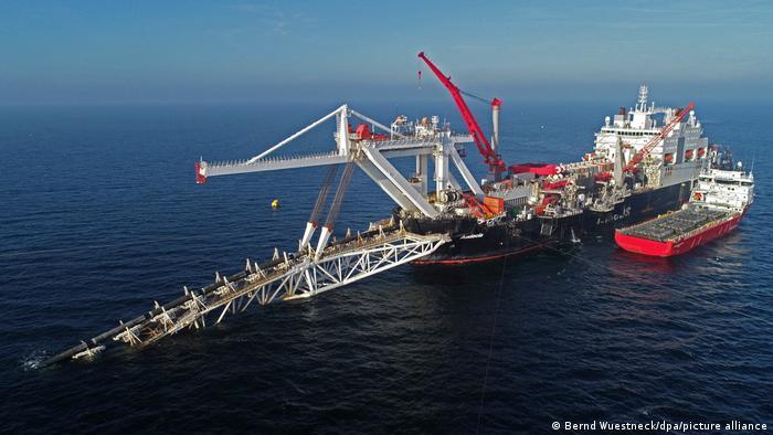 Gradnja plinovoda Sjeverni tok 2