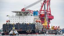 Russland I Dänemark I Verlegeschiff Fortuna
