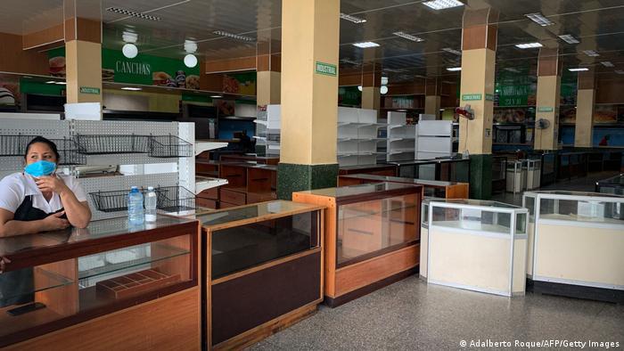 Geschäft in Havanna