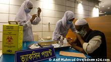 Bangladesch Dhaka | Corona | Start der landesweiten Impfkampagne