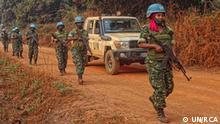 Zentralafrikanische Republik UN Soldaten in Bangui