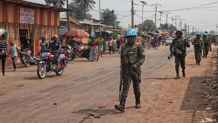 La sécurité dans la capitale Bangui est toujours assurée par les casques bleus de la Minusca