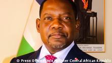 Zentralafrikanische Republik Premierminister Firmin Ngrebada