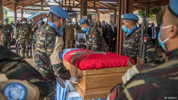Церемония в ЦАР в память о погибших солдатах ООН
