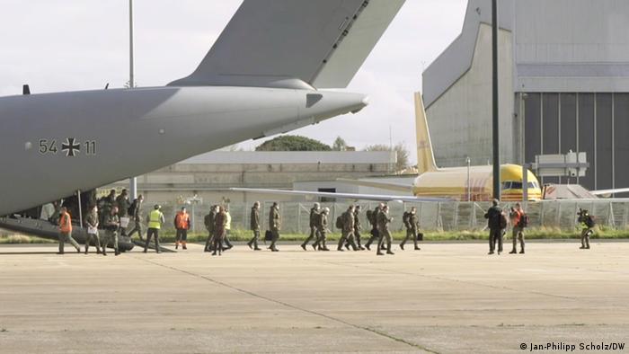 Dolazak vojnika Bundeswehra u Lisabon