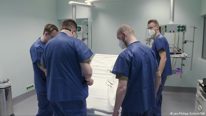 Portugal Corona Infection |  Bundeswehr ajuda |  Treinamento