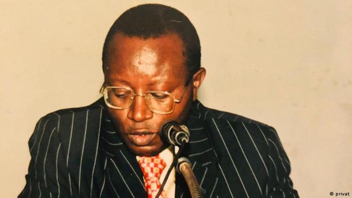 Floribert Chebeya (archive familiale)