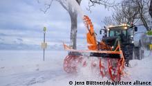 Deutschland Symbolbild Kältewelle | Rügen