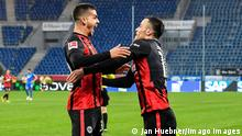 Deutschland Bundesliga TSG 1899 Hoffenheim - Eintracht Frankfurt | Tor Silva