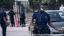 DRC policemen