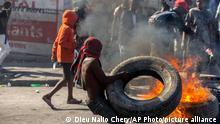 Haiti Unruhen Proteste