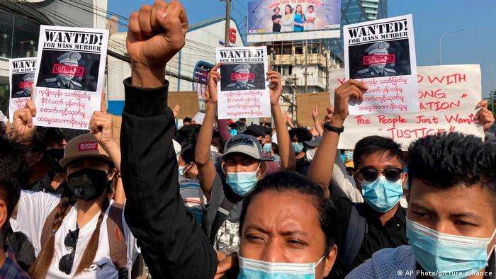Myanmar Proteste