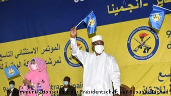 Le président Idriss Déby a été désigné candidat par son parti pour la présidentielle