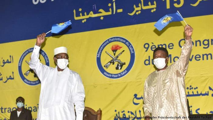 Le président Idriss Deby Itno est candidat à un 6ème mandat lors de la présidentielle du 11 avril 2021.