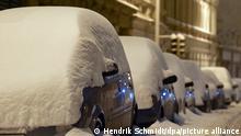 Deutschland Winterwetter - Sachsen