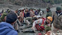 Weltspiegel 08.02.2021 | Indien Uttarakhand |Gletscherabbruch