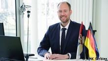 Serbien Frank Aletter Geschäftsführer AHK Serbien