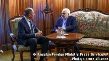 Iran | Außenminister Dschawad Sarif und Sergei Lawrow