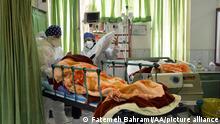 Iran Teheran Coronavirus Intensivstation