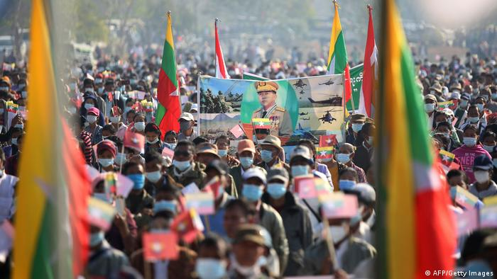 Manifestation en Birmanie