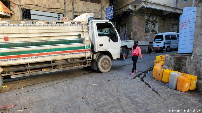 Jemen Taiz | Wassertank