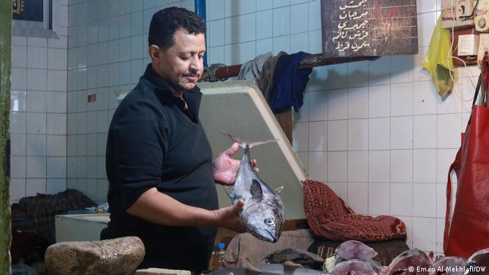 Jemen Taiz | Fischhändler